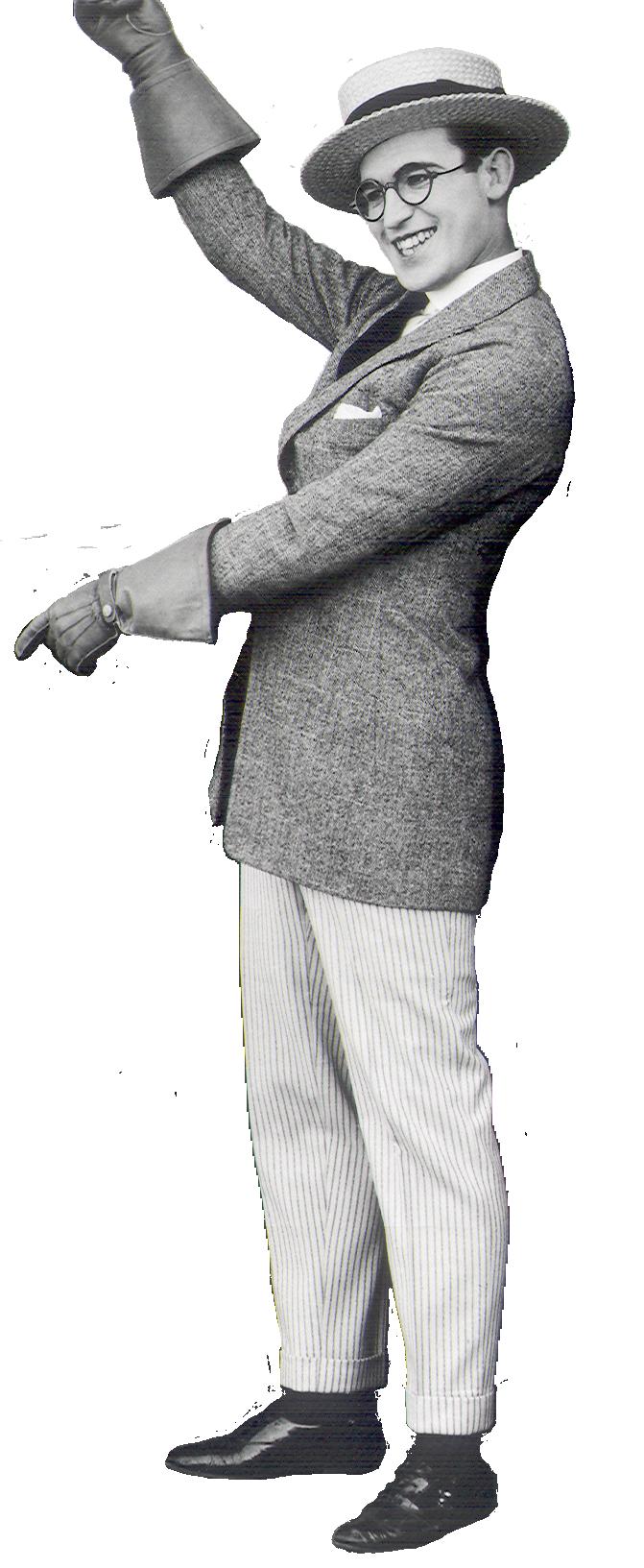 Harold Lloyd Presenting