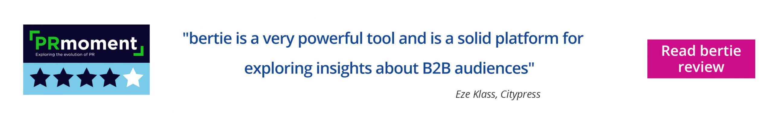 delineate bertie tool review